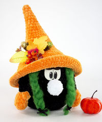 Halloween amigurumi Gnome. Crochet gift for mom or daughter. Halloween home decore. Crochet plush toy $43.00