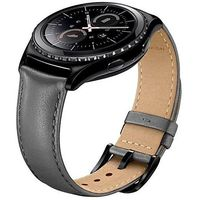 Samsung Gear S2 Classic Band for SM-R732 R7320 R735, Boonix Top-Grain Genuine Leather Quick Release Wristband, 20mm Width Easy Change Strap, NOT FIT for Gear S2 SM-R720 R730 [20mm Khaki] $25.99