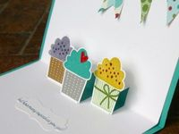 Stampin Up Pop Up Cupcake Birthday Card 4