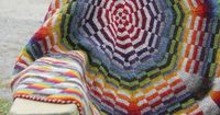 7126 Sunburst DK Blanket by lucyneatby, $7 Tutorial available. The following topics are covered: 1 - Simulated in the round swatch 2 - Alternative Cast-on for Middle-out DK 3 - Tubular CO and Rnds 1 - 3 4 - Alternative purling 5 - Regular wedge sequence 6...