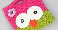 Pink & Green Owl Purse by Crossroad on #zulily!