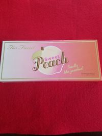 �Ÿ'‹�Ÿ'� Too Faced Sweet Peach Eye Shadow Palette �� 100% Authentic $47.95 �Ÿ'‹�Ÿ'�