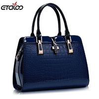 Europe women leather handbags PU handbag women bag top-handle bags tote bag $41.98