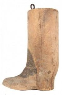 19th Century Trade Sign of a boot
