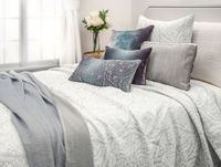 Henna Gray Coverlet by Kevin O'Brien Studio $495.00
