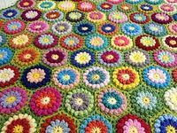 Bobbly Flower Hexagon by Mad Blanketer Bobbly Flower Hexagon was inspired by and designed after a vintage afghan. The pattern creates thick/dense block suitable for afghans, blankets, cushion covers, trivets and etc. You can use as many or few colors as y...