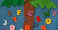 flannel board story: great interactive story for kids learning alphabet