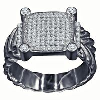 Men's Sterling Silver Ring $38.00