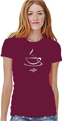 Coffee Steam Shirt for all coffee lovers. Artful design of your favorite coffee. A Unisex Style, Jersey, Short Sleeve, Casual Tee. $24.00