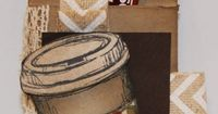 ScallopTag Coffee Packet Holder with Dawn