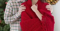 Try a Holiday Cables Throw Well�€� well�€� well! Just when I didn't think my bucket list couldn't get any bigger, along comes the Holiday Cables Throw. Why do I do this to myself. I tease myself searching through the index of RedHe...