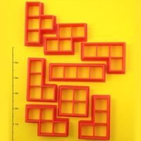 Tetris Block Cookie Cutter Set | $25
