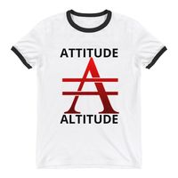 Big A with Attitude Ringer T-Shirt $25.00