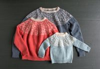 Bobble Yoke Sweater: Now Sized for Kids and Women Too!