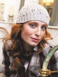 Knit a cable hat: free pattern - Click through to download the knitting pattern for this cute little hat, designed by Martin Storey and first featured in Prima, December 2008