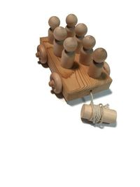Classic Push Pull Toy Birthday Gift Or Christmas Gift | Wooden Toy | Baby Shower $8.95