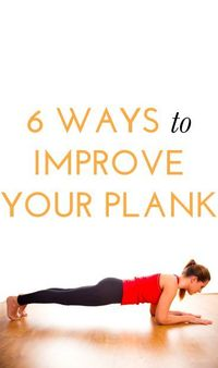 How to improve your plank