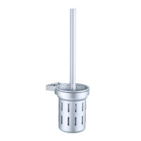 Silver On Sale Toilet Brush Holder