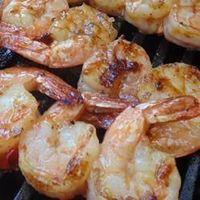 Sweet and Spicy Grilled Shrimp, photo by Christina