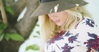 DRESS: Free People // SANDALS: Sam Edelman // HAT: Eric Javits // LIPSTICK: MAC �€˜Coral Bliss' // NECKLACE: Gorjana Photos by Ashlee Brooke Photography This is officially the last outfit I have with the bump! These were taken a couple da...