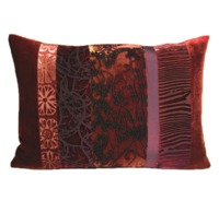 Wildberry Velvet Patchwork Pillows by Kevin O'Brien Studio $122.00