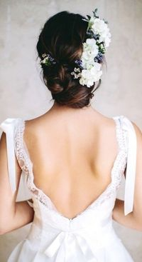 Chic Bun Ideas for Brides on Your Wedding Day (And the Rest of Us,Too!)
