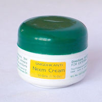 Buy Neem-Sandal Cream(1.75oz) @15.54$ as low as @7.77$ from Soulgenie. Suitable for winter skin allergies, athletes foot, dry skin based disorders and skin fungus and 100% natural. It contains neem, sandalwood and herbal oils. Buy today at htt...
