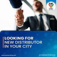 We are looking for a new distributor in your city.