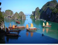 Long Bay Amazing Place in Vietnam