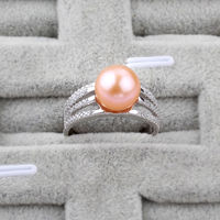 8-9 Pearl Ring Fate Love 925 Sterling silver