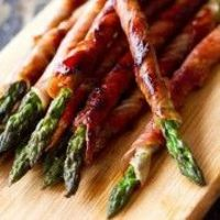 Asparagus Wrapped In Bacon, Super Delicious