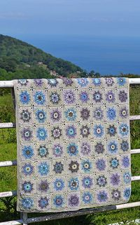 Mabel Crochet Blanket by Amanda Perkins This pattern is available for £3.00 GBP http://www.thenaturaldyestudio.com/
