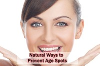 Natural remedies treat age spots