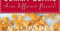 Paleo Gummies couldn't be easier to make! The flavors, Pomegranate, Apple Cinnamon & Cranberry Orange, are flavored with fruit juice & made with gelatin.