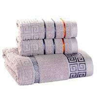 3 Pack Towel Set 100% Cotton 70x140cm Bath Towel and 2 Face Hand Towel Super Soft Absorbent $50.00