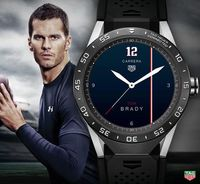 TAG Heuer Connected With Personalized Watch Faces - Tom Brady
