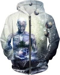 Experience So Lucid Discovery So Clear - Hoodie $89.00
