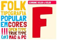 Folk ( 27 Professional Free Fonts for Graphic and Web Designers )