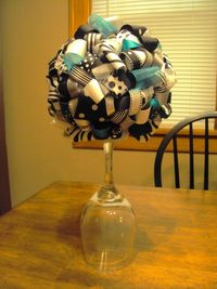 I know what centerpieces will be at