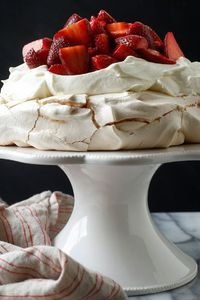 The particular joy of this dreamy dessert, which was named in honor of the Russian ballerina, is that the meringue base can be made in advance Then to serve it,