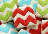 How to Make Chevron Cookies | Sweetsugarbelle