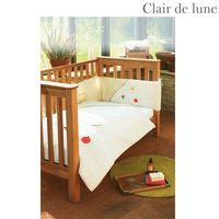 Clair de Lune Mother Earth - 5 Piece Bedding Bale Bamboo is a natural anti-bacterial plant which is grown without the use of pesticides and without the need for extra watering. Bamboo is cool in summer retains heat through winter and is a very brea http:/...