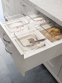 pull-out baking drawer