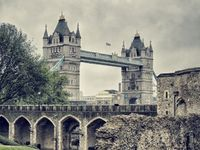 Tower Bridge from the Tower of London. England, UK - Dream Vacation Spot