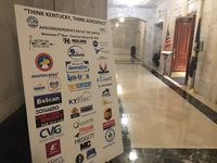 My Kentucky brother's company was listed on the Aviation/Aerospace Day board.  https://twitter.com/KYComMilAffairs/status/1101116060542083072