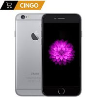 Unlocked Apple iPhone 6 1GB RAM 4.7 inch IOS Dual Core 1.4GHz 16/64/128GB ROM 8.0 MP Camera 3G WCDMA 4G LTE Used Mobile phone $251.98