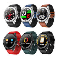 XANES® Q30 1.3'' Full Touch IP67 Waterproof Smart Watch Heart Rate Monitor Stopwatch Countdown Silicone Strap Sports Fitness Bracelet