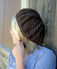The Kiwi Slouch knitting pattern