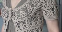 Elegant Crochet Sweaters: Crochet Circular Vest - Free pattern with or without sleeves!