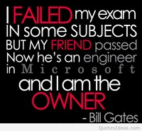 Failed and failure quote